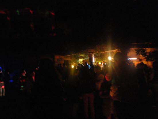 メキシコ人のパーティーと事件発生