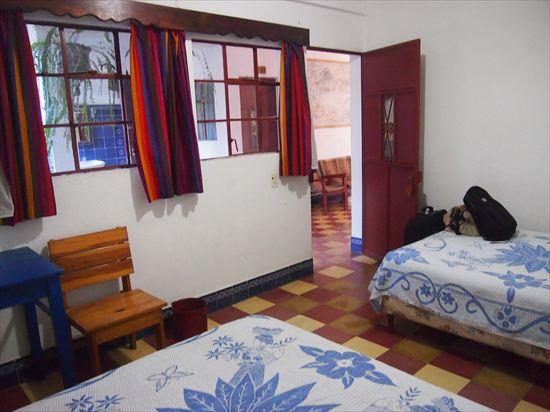 グアテマラ・パナハッチェルの安宿