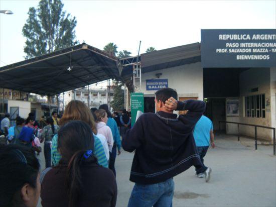 ボリビア→アルゼンチン国境の厳重な荷物検査についての全て