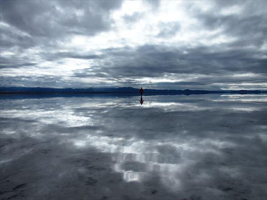 ウユニ塩湖で起きた事件