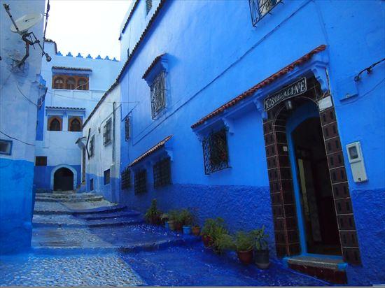 青の街シャウエンをモロッコ女子と散策♪