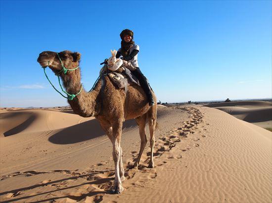 超絶景!モロッコ・サハラ砂漠のラクダツアーで見た景色