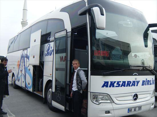 イスタンブールから、ギョレメまでのバス…乗り換え多すぎ!!