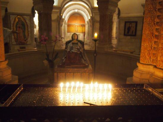 エルサレムのおすすめ観光スポット「マリア永眠教会」