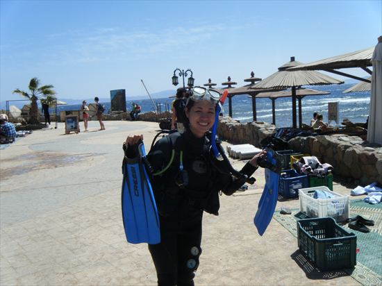 ダイビングのライセンス取得が世界一安い場所、ダハブ(エジプト)