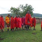 マサイ族のジャンプ