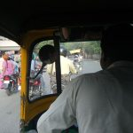 インドのリクシャー