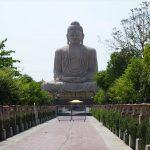 ブッダガヤの仏像