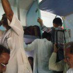 インドの列車では、盗難に注意!!