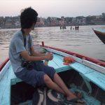 ガンジス河のボート