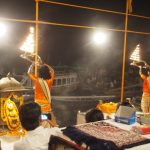 バラナシのプ―ジャ&ヒンズー教徒が食べない肉