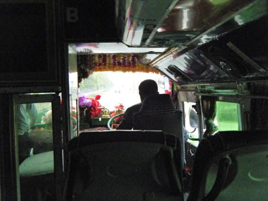 ルンビニからカトマンズに行く夜行バスで起きた事件