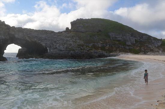小笠原・南島への行き方。ついに上陸!地上の楽園とは、このことか!?
