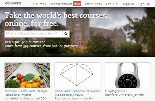 Courseraでアメリカの大学に留学します!