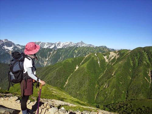 【初心者の北アルプス縦走記】超絶景!常念岳~大天井岳~燕山荘
