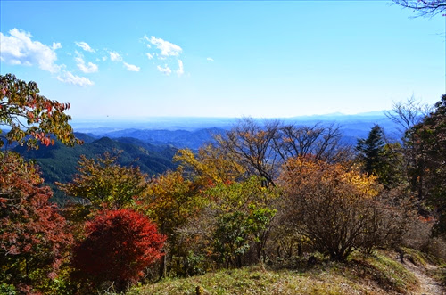 関八州見晴台と高山不動尊 - 東京からの日帰り登山♪