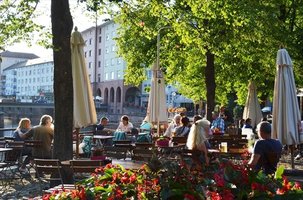 南ドイツのおすすめ料理&外国人がオープンカフェを好む理由