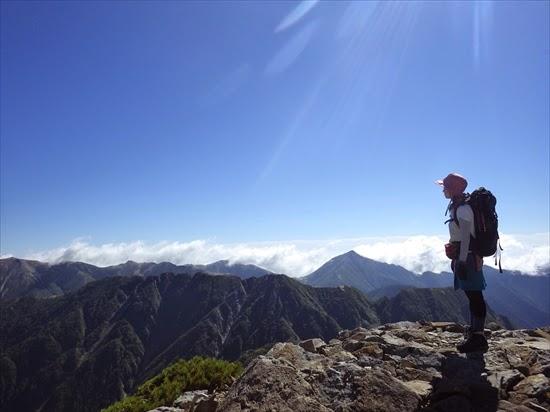 ヒュッテ大槍から槍ヶ岳山荘へ。槍ヶ岳登山レポート