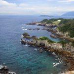式根島を日帰り観光♪自転車で天然温泉を巡る旅