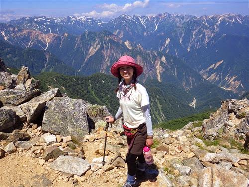 常念岳登山の難易度は?登山初心者が北アルプスを縦走してみたよ!