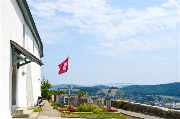 レンツブルク観光と、スイスの驚くべきお墓事情