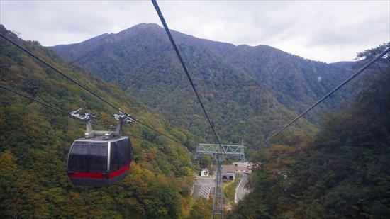 谷川岳登山のロープウェイを使わないコースと、田尻尾根
