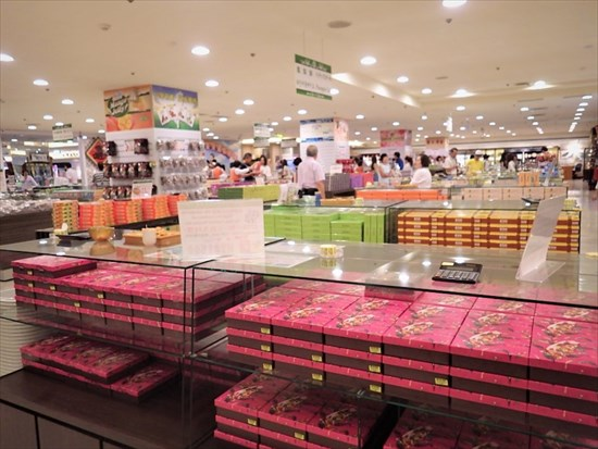 格安台湾ツアーで立ち寄った免税店