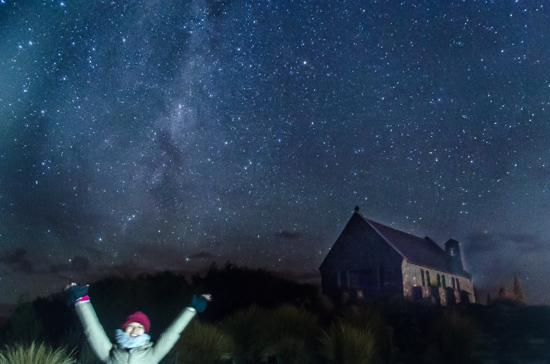 テカポ湖で最高の星空を見るには?行き方やベストシーズンを徹底解説