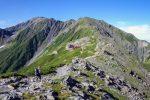 【間ノ岳登山レポート】初心者が北岳~間ノ岳の縦走に行ってきたよ