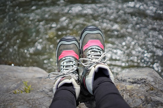 KEENの登山靴