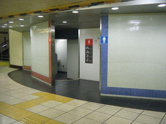 JR山手線 上野のトイレ1