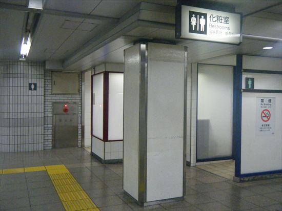 JR山手線 池袋のトイレ3