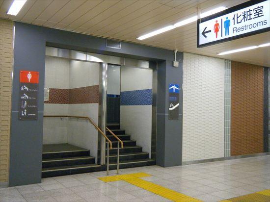 JR山手線 上野のトイレ2