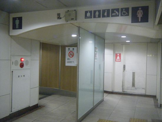 JR山手線 高田馬場のトイレ1