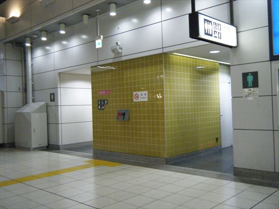 JR山手線 大崎のトイレ1