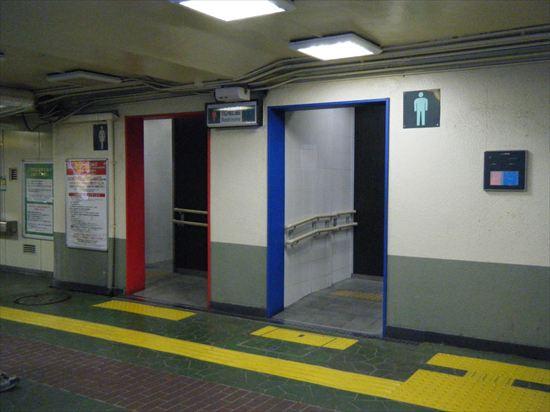 JR山手線 駒込のトイレ1