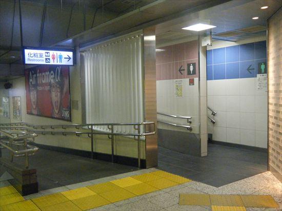 JR山手線 東京のトイレ10