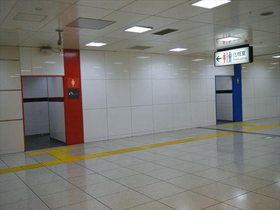 JR山手線 東京のトイレ4
