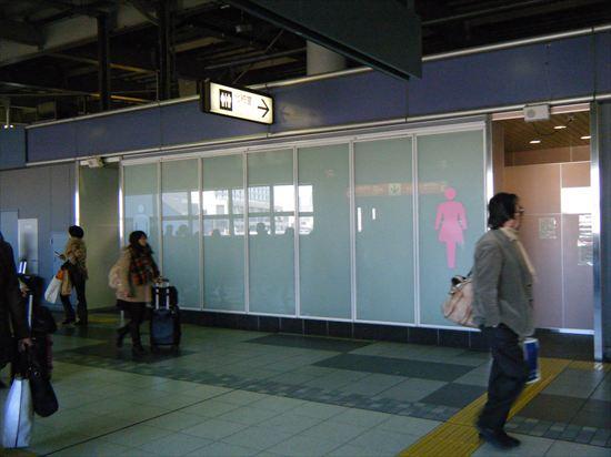 品川駅のトイレ3