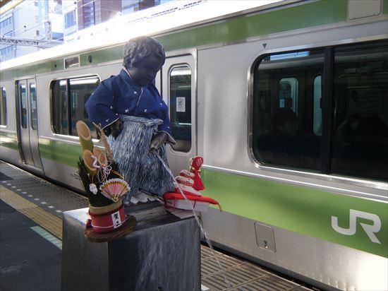 浜松町駅のションベン小僧