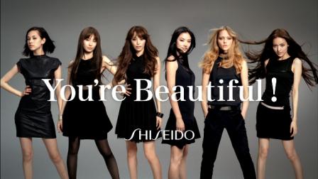 日本の女性は美しい。