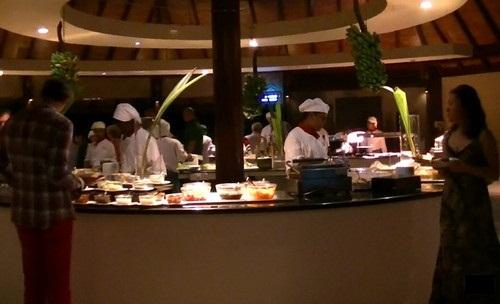 ロビンソン・クラブ・モルディブのレストラン