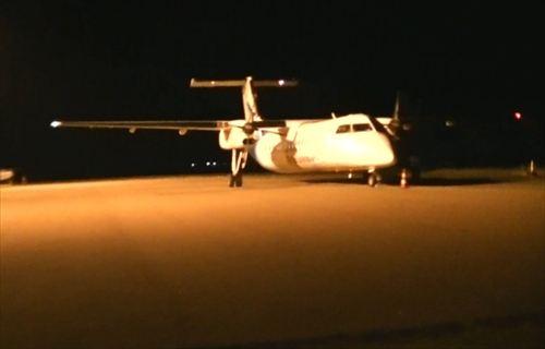 モルディブの国内線の飛行機